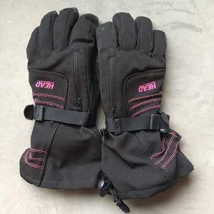 Girls M Ski Gloves